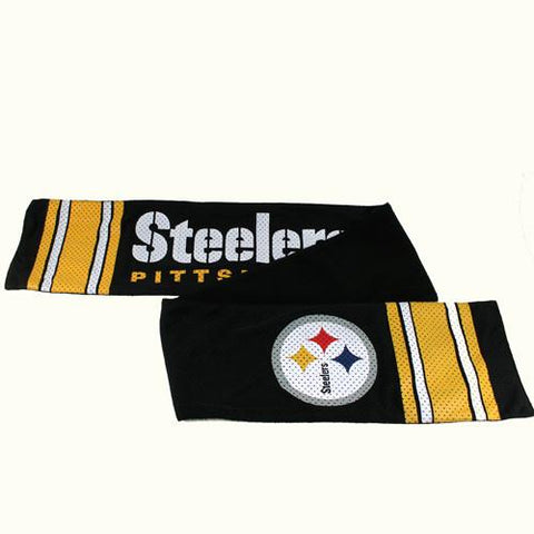 Pittsburgh Steelers Scarf- Jersey with Fleece Lining