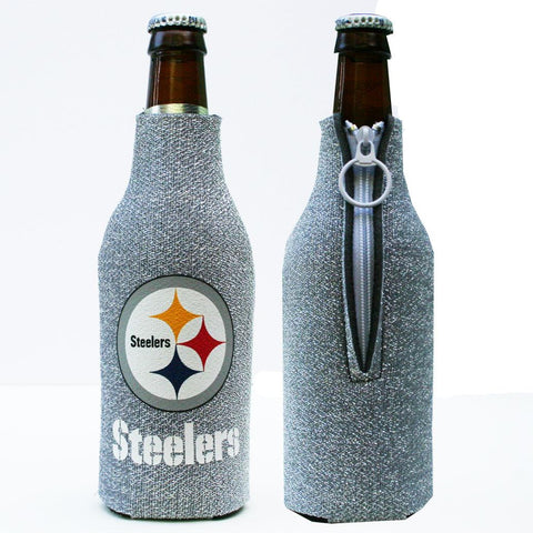 Pittsburgh Steelers Bottle Koozie- Glitter