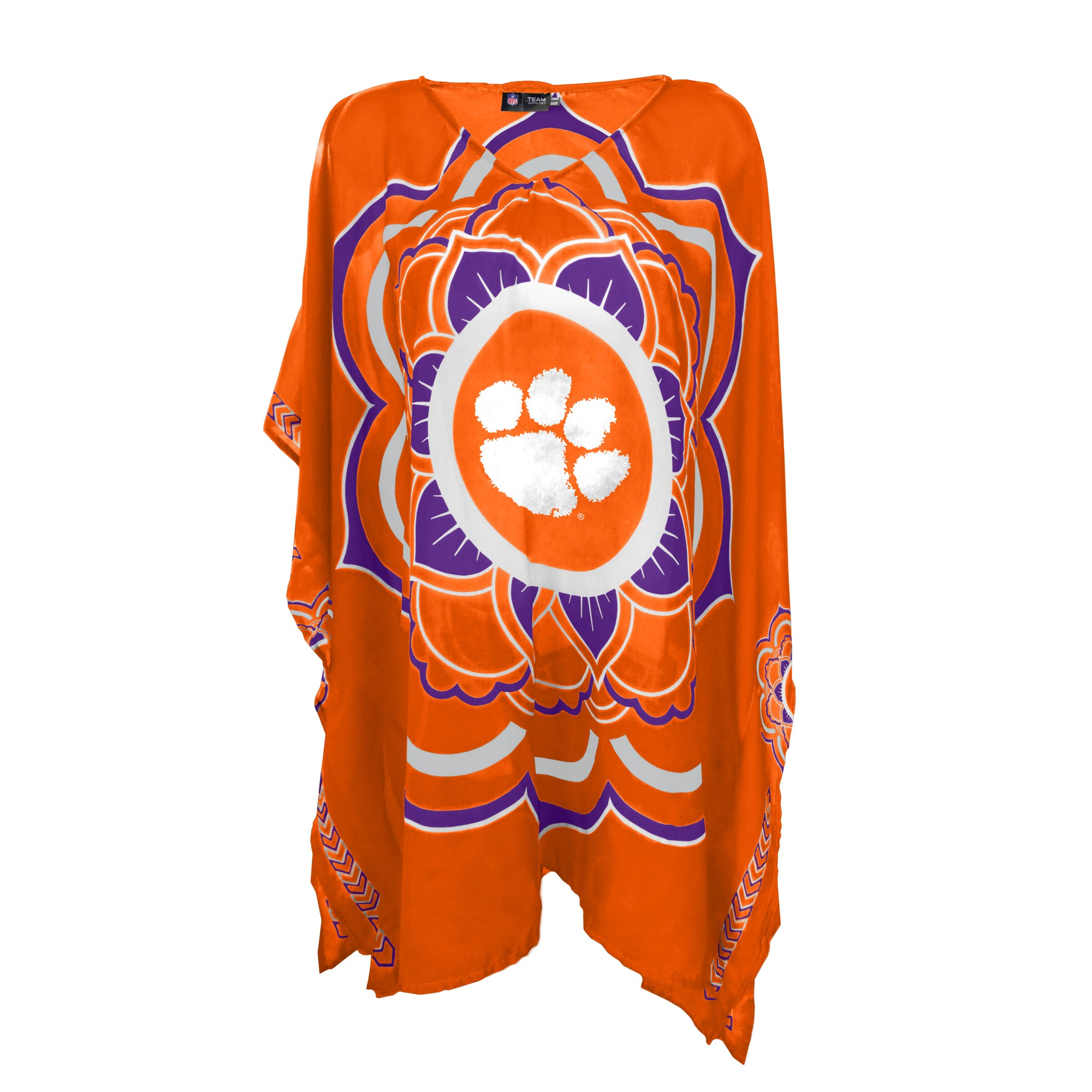 LIMITED EDITION, OFFICIALLY LICENSED CLEMSON CAFTAN