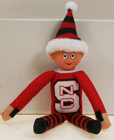 North Carolina State Wolfpack Elf Toy