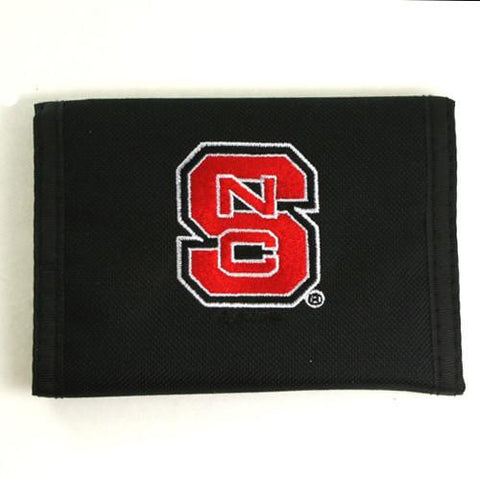 NC North Carolina State Wolfpack Nylon Velcro Wallet
