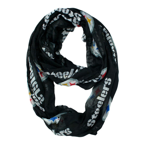 Limited Edition, Official Pittsburgh Steelers Infinity Scarf