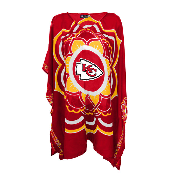 LIMITED EDITION, OFFICIALLY LICENSED KANSAS CITY CHIEFS CAFTAN #2