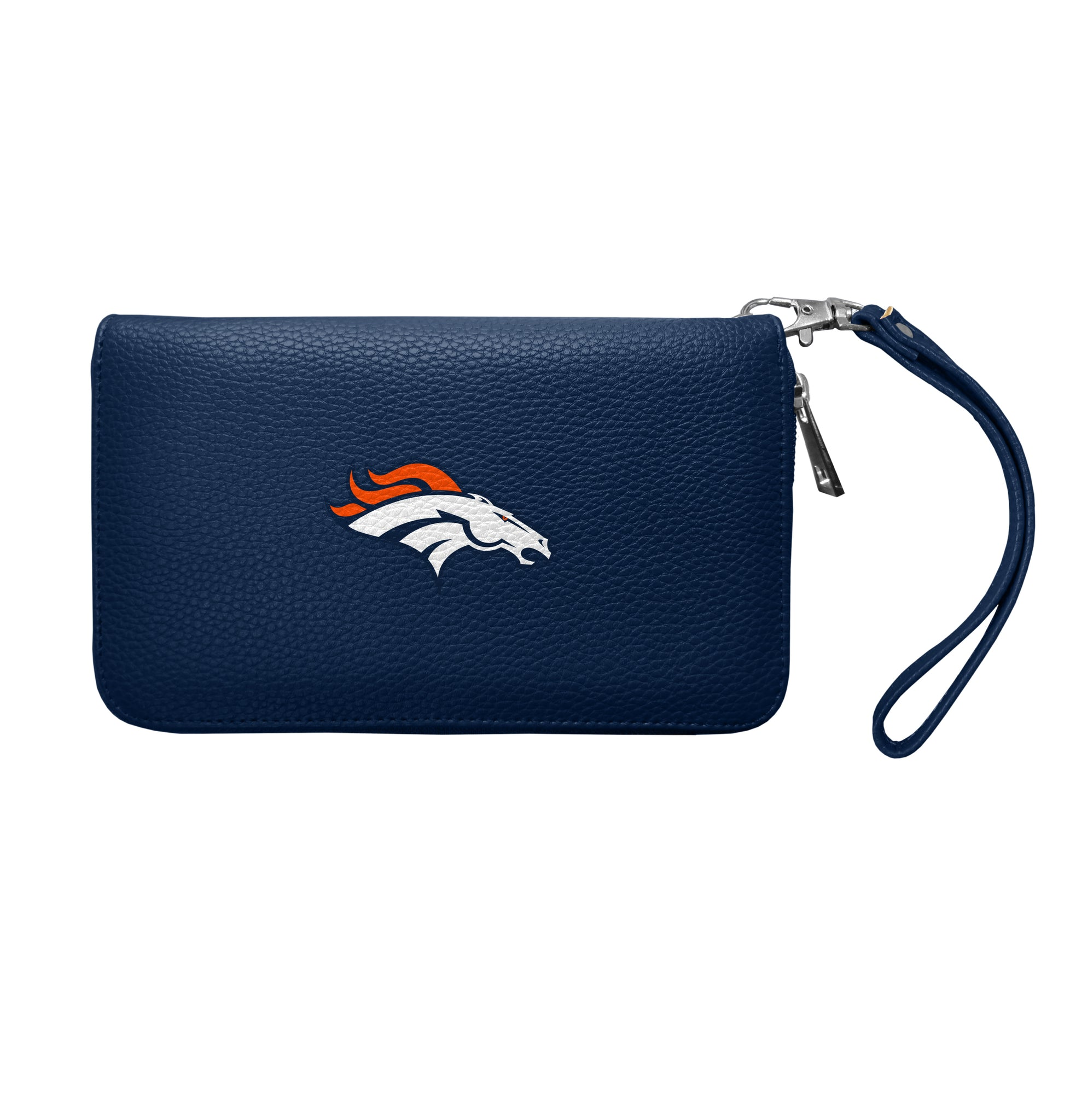 Denver Broncos Zip Organizer Wallet Pebble