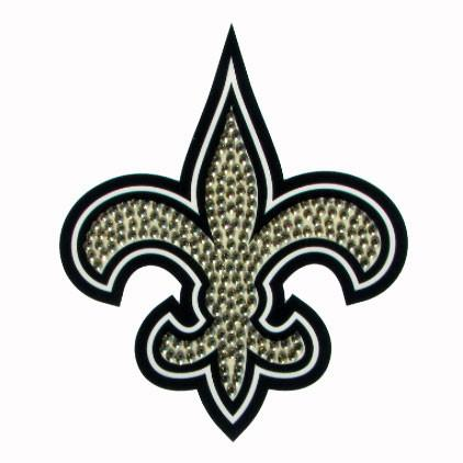Officially Licensed, New Orleans Saints Decal- Bling