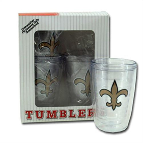 Fleur De Lis 4 pc. Insulated Tumbler Set