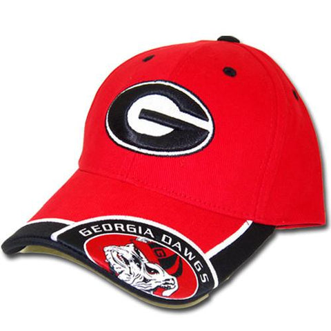 Georgia Bulldogs Cap- Cornerview