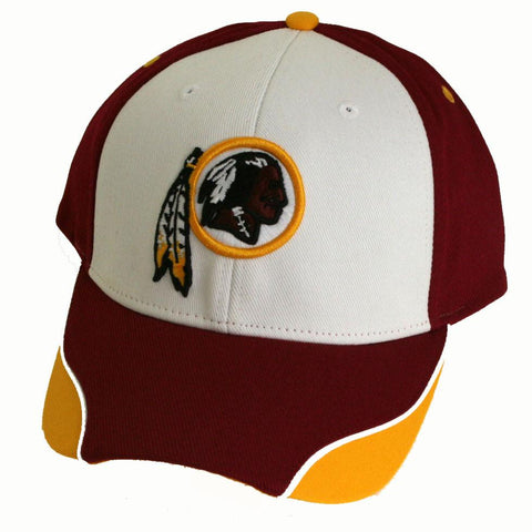 Washington Redskins Cap- Tri Color with Maroon Bill