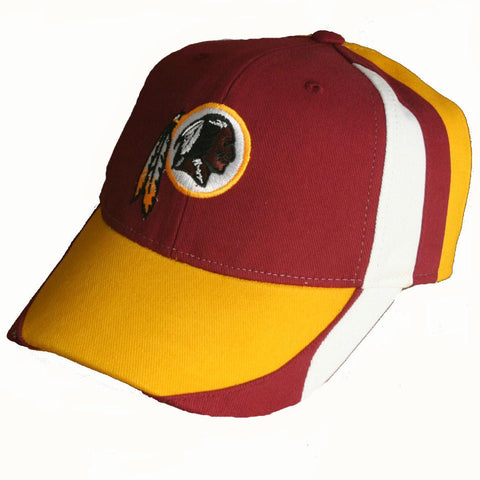 Washington Redskins Cap- Tri Color Yellow Bill
