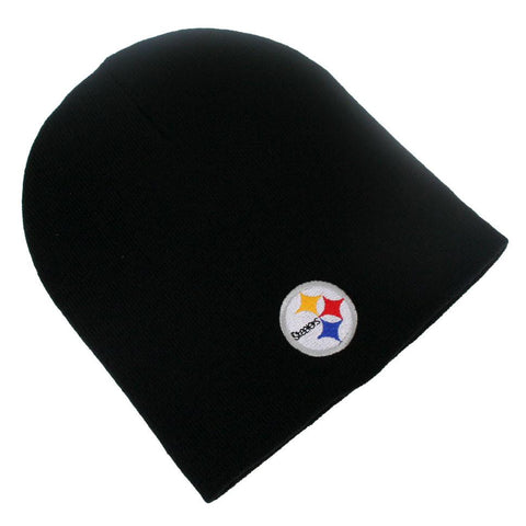 Pittsburgh Steelers Knit Hat- Black Skully