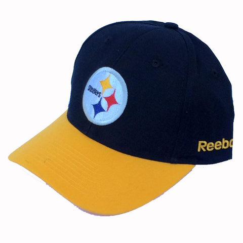 Pittsburgh Steelers Cap- Black with Yellow Bill