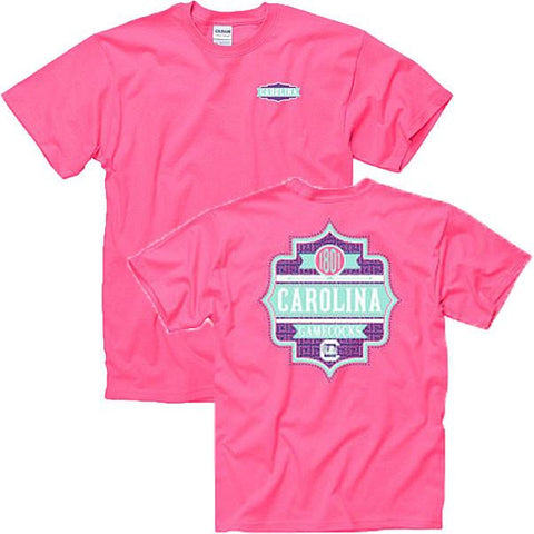 South Carolina Gamecocks Charmer Tee- Pink