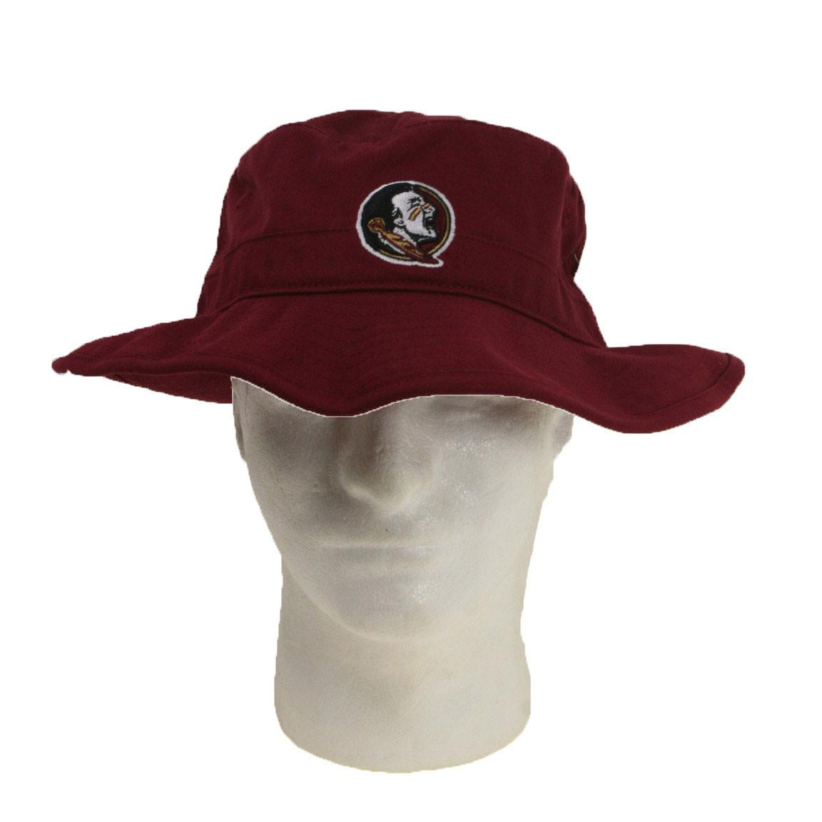 Officially Licensed, Florida State Seminoles Bucket Hat – Maroon