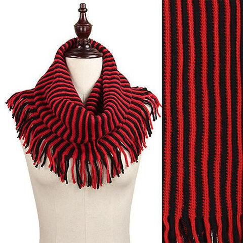 Tampa Bay Buccaneers Knit Infinity Scarf – Red & Black