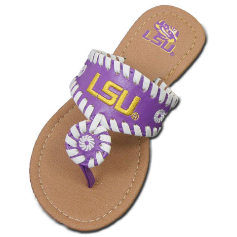 Louisiana State Tigers Toddlers 2016 Whipstitch Sandal