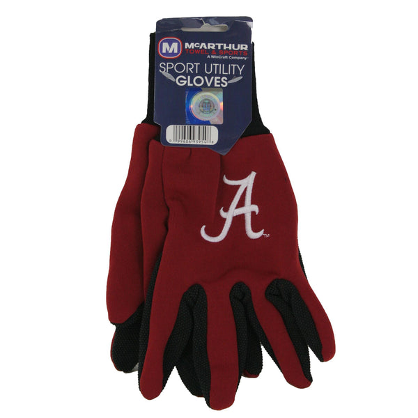 Alabama Crimson Tide Utility Gloves