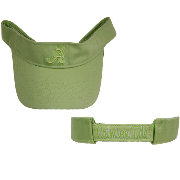 Alabama Crimson Tide Visor – Pastel Green