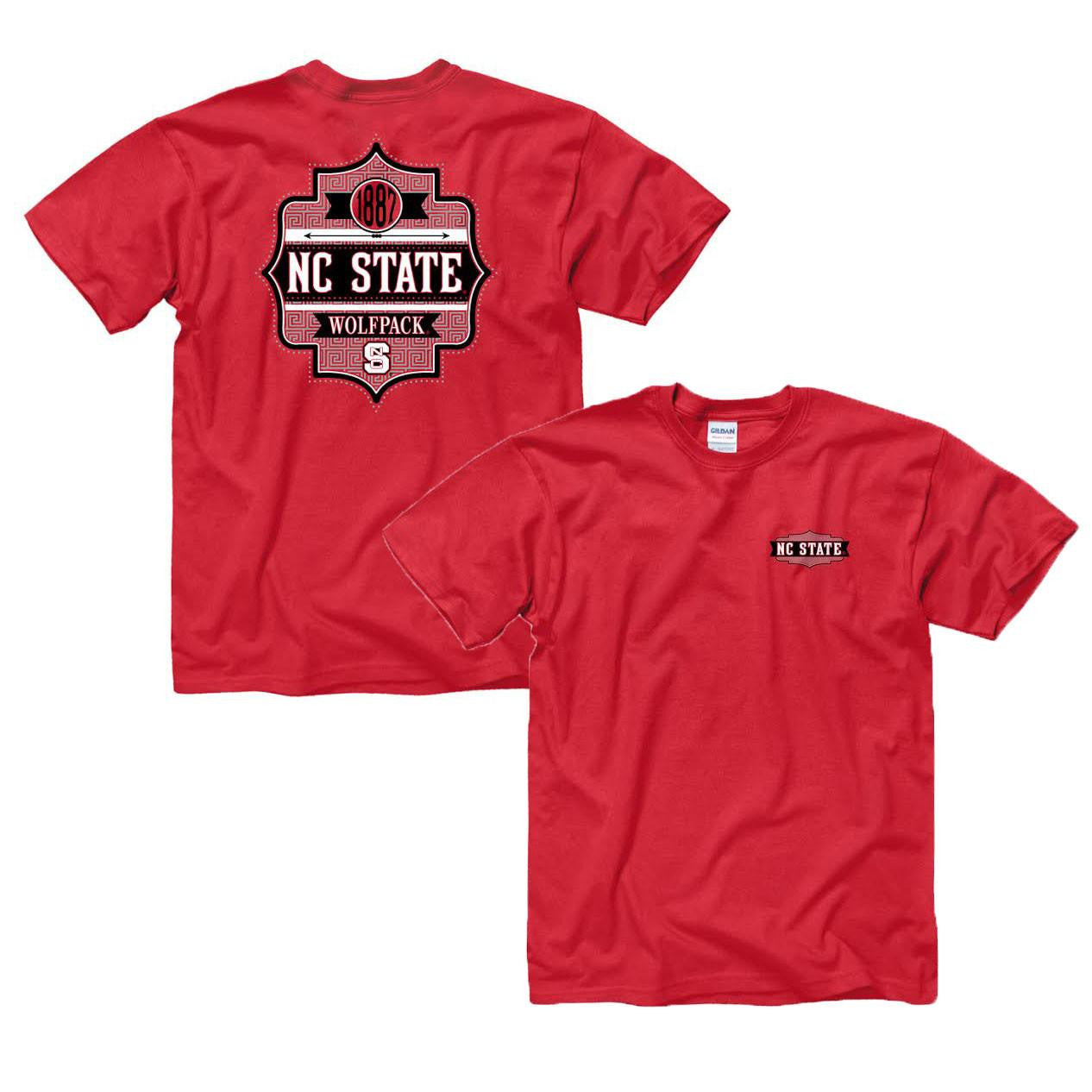North Carolina State Wolf Pack Charmer T-Shirt- RED