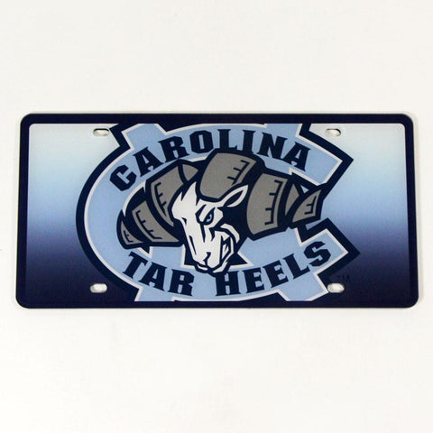North Carolina Tar Heels License Plate- Mega Plate