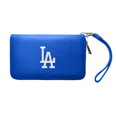 LOS ANGELES DODGERS ZIP ORGANIZER WALLET PEBBLE