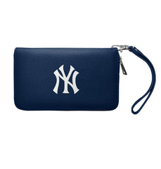 New York Yankees Zip Organizer Wallet Pebble