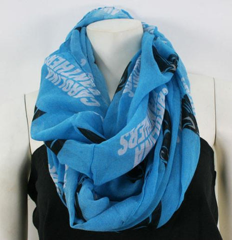 Carolina Panthers Infinity Scarf- Blue