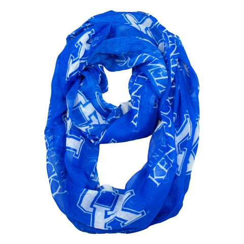 KENTUCKY WILDCATS Scarf- Sheer Infinity