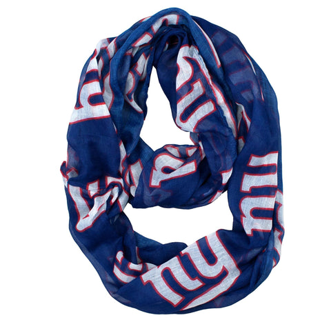 New York Giants Scarf- Sheer Infinity