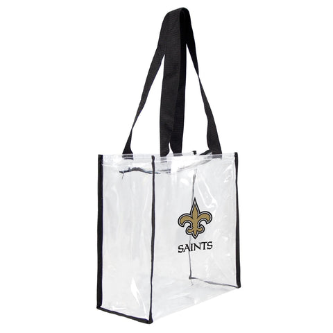 New Orleans Saints Clear Stadium Tote