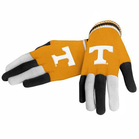 Tennessee Volunteers Gloves- Knit Multi Color