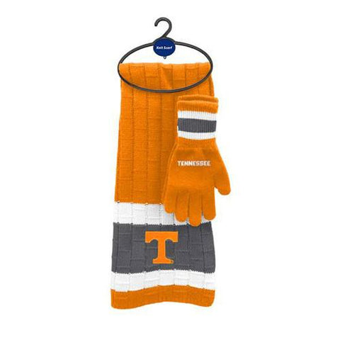 Tennessee Volunteers Scarf and Glove Set