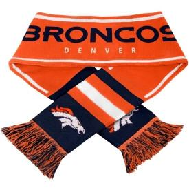 Officially Licensed, Denver Broncos Scarf- Acrylic Wordmark