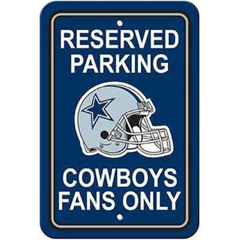 Dallas Cowboys Parking Sign