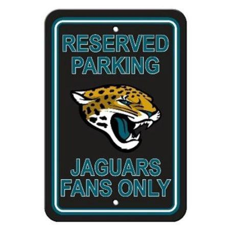Jacksonville Jaguars Parking Sign Reserved