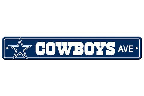 Dallas Cowboys Street Sign