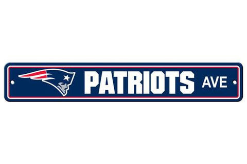 New England Patriots Street Sign