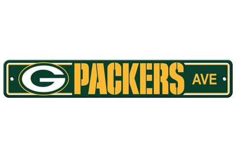 Green Bay Packers Street Sign