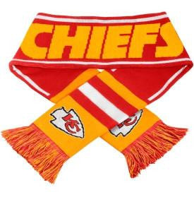 Kansas City Chiefs Scarf- Acrylic Wordmark