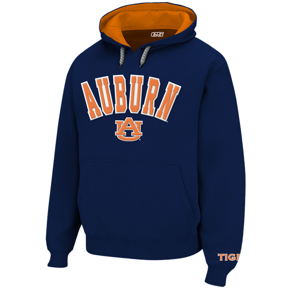 Auburn Tigers Hooded Sweatshirt- Navy Popover