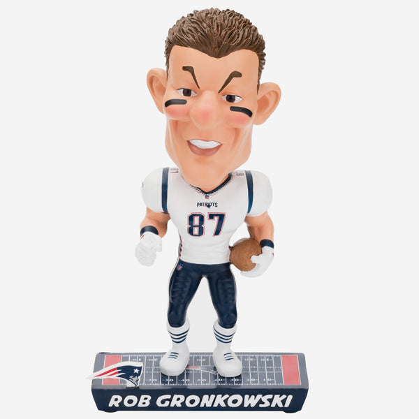 Rob Gronkowski New England Patriots Caricature Bobblehead
