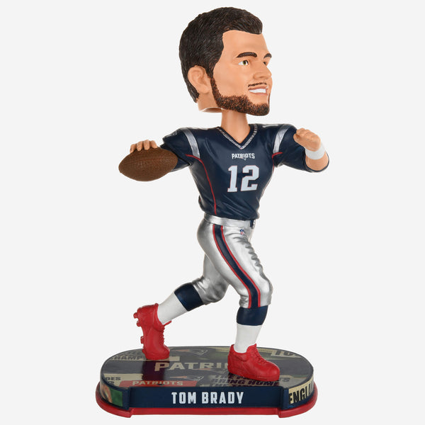 Tom Brady New England Patriots Headline Bobblehead