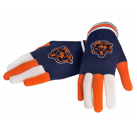 Chicago Bears Knit Glove- Multi Color