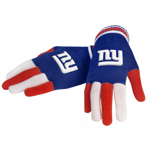 New York Giants Knit Glove- Multi Color