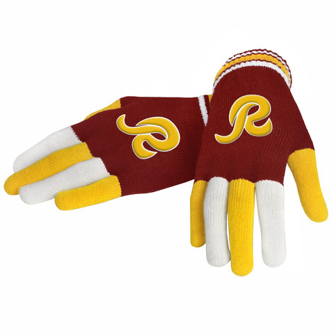 Washington Redskins Knit Glove- Multi Color