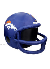 DENVER BRONCOS INFLATABLE LAWN HELMET