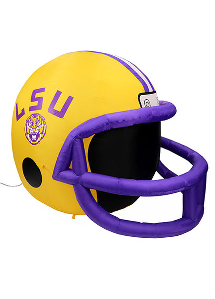 LSU TIGERS INFLATABLE LAWN HELMET