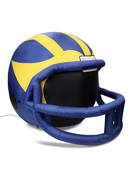 MICHIGAN WOLVERINES INFLATABLE LAWN HELMET