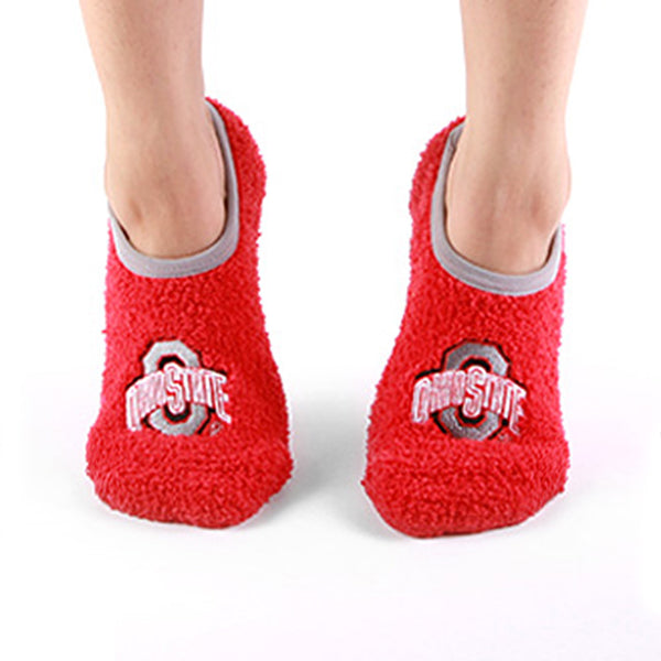 Ohio State - NCAA Unisex Foot-Z-Sox Slipper Socks