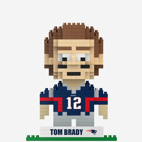 Tom Brady Patriots Building Blocks Player