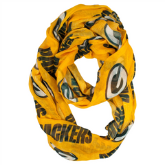 Green Bay Packers Scarf Light- Sheer Infinity